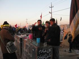 سوگواره دوم-عکس 165-محمد کشاورز-پیاده روی اربعین از نجف تا کربلا