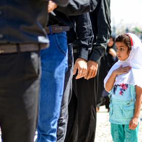 سوگواره پنجم-عکس 32-حسین رحیمی-جلسه هیأت فضای بیرونی