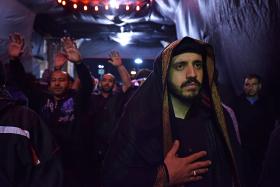 سوگواره پنجم-عکس 15-میلاد جوادی-پیاده روی اربعین از نجف تا کربلا