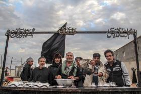 سوگواره سوم-عکس 53-امیر قیومی-پیاده روی اربعین از نجف تا کربلا