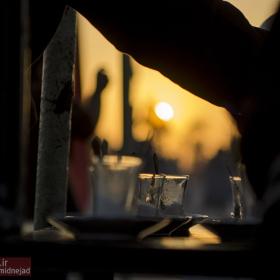سوگواره سوم-عکس 31-امیر امیدنژاد-پیاده روی اربعین از نجف تا کربلا