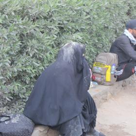 سوگواره چهارم-عکس 2-علی هاشمی-پیاده روی اربعین از نجف تا کربلا