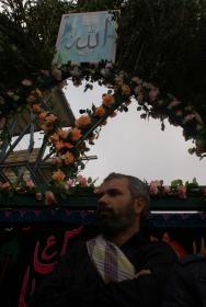 سوگواره دوم-عکس 6-محمدرضا  خسروی چاهک -جلسه هیأت فضای بیرونی