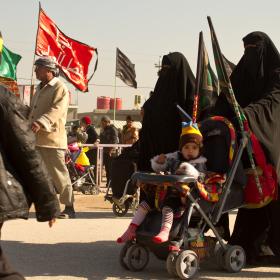 سوگواره سوم-عکس 14-محمد حسین ابراهیمی ورکیانی-پیاده روی اربعین از نجف تا کربلا