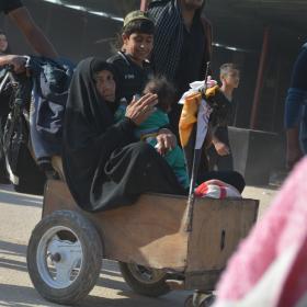 سوگواره پنجم-عکس 18-فاطمه عاقل زاده-پیاده روی اربعین از نجف تا کربلا
