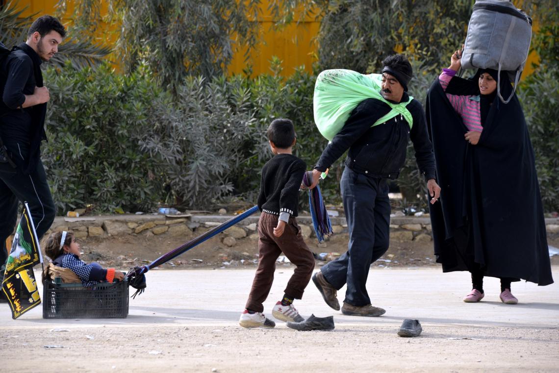 سوگواره سوم-عکس 2-علی قینرلو-پیاده روی اربعین از نجف تا کربلا