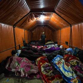 سوگواره پنجم-عکس 65-علی  حسن زاده-پیاده روی اربعین از نجف تا کربلا