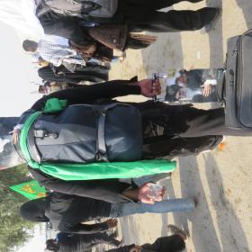 سوگواره سوم-عکس 20-محمد ابراهیمی-پیاده روی اربعین از نجف تا کربلا