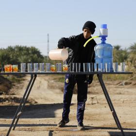 سوگواره سوم-عکس 15-علی بیات-پیاده روی اربعین از نجف تا کربلا